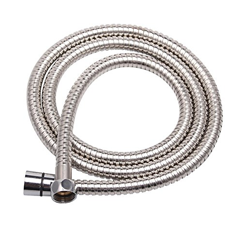 Preisvergleich Produktbild Labkiss 2m Anti-Explosion Leakproof Anti-Kink Flexible Stainless Steel Shower Hose With Solid Brass Connector(6.5Ft)(78.7Inch) by Labkiss