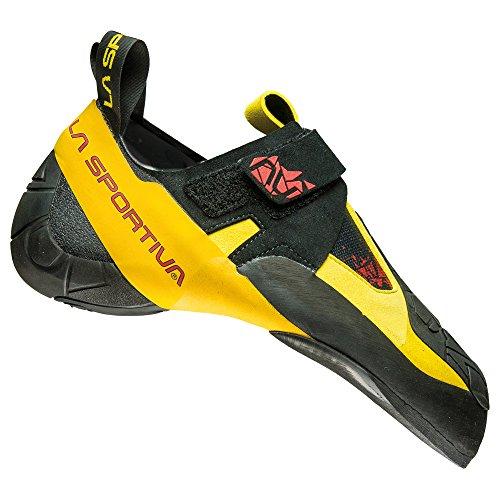 La Sportiva S.p.A. Skwama Men Größe 42 black/yellow