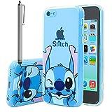 Apple iPhone 5C Étui HCN PHONE Coque silicone TPU Transparente Ultra-Fine Dessin...