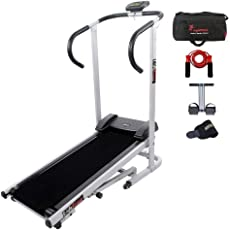 Lifeline Manual Treadmill Machine for Tummy Trimming and Skipping Rope Gym Bag Sweat Belt for Stomach Exercise
