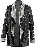 Roxy Damen Sweatjacke schwarz XL