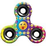 Omiky® Emoji Fidget Hand Tri-Spinner Stress Relief Manipulative Spiel Spielzeug