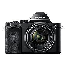 Sony Alpha 7K - Kit Fotocamera Digitale Mirrorless con Obiettivo Intercambiabile Sel 28-70Mm, Sensore Cmos Exmor Full-Frame da 24.3 Mp, Ilce7B + Sel2870, Nero