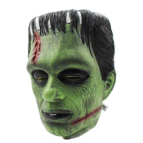 Gun ndy Halloween Horror Maske Film Wissenschaft Frankenstein Alien Man Alien Mask Dance Party Scary Requisiten (Filme Requisiten Für Gun)