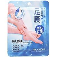 Foot Care Mask–Rolanjona 100= 5pair Rolanjona Fuß, Maske Bambusessig Fuß Maske Milch Membran Foot Care Entgratung... preisvergleich bei billige-tabletten.eu