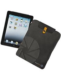 KAOS CLICK NON STOP Etui housse pour iPad tablette - Matériel: Nylon avec pièces en faux cuir