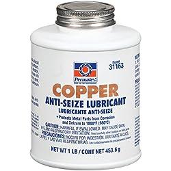 Permatex 31163–12pk Cobre Anti-Seize lubricante, 1LB (Pack de 12)