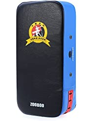Zooboo Strike Shield, pied Kicking Cible de perforation de karaté MMA boxe Muay Thai TKD Training Gear 1pièce rectangle