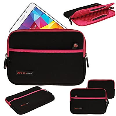 TECHGEAR® [SENTINEL PRO Sleeve (ALL)] Slim Neoprene Zipped Protective Sleeve Case Cover with Anti-Shock Bubble Interior