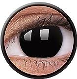 #4: ColorVue Crazy Lens Daily Conatct Lens - 2 Units (Blackout)