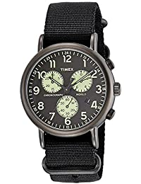(Certified Refurbished) Timex Weekender Analog Black Dial Men's Watch - TW2P71500#CR