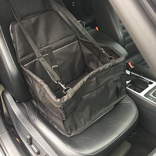 Wowgood@Hunde Katze Transporttasche Autositzbezug Wasserdicht mit Sicherheitsgurten