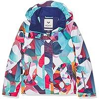 Roxy ERGTJ03011-WBB3_8/S, Chaqueta de nieve Para Niñas, Multicolor (wbb3), 12 años / L