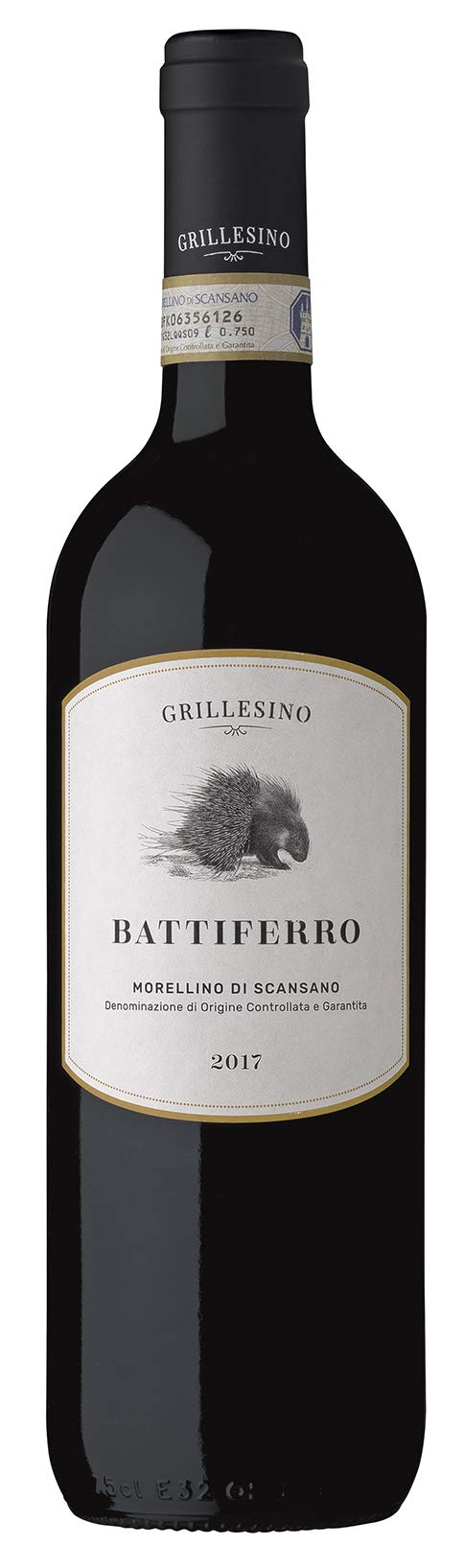6x-075l-2017er-Grillesino-Battiferro-Morellino-di-Scansano-DOCG-Toscana-Italien-Rotwein-trocken
