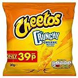 Cheetos Knusprige Käse Snacks PMP 30g (Packung mit 30 x 30g)