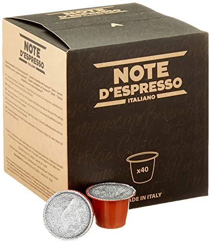Note D'Espresso - Cápsulas de manzanilla con miel y naranja, 6g (caja de 40 unidades)