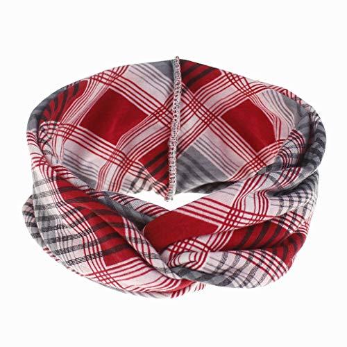 Fenverk Damen Stirnband Haarband Kopfband Elastische Sportliche Headband FüR Joggen Yoga Gym Fitness Training Weich Turban Alltag Sport(Rot) -