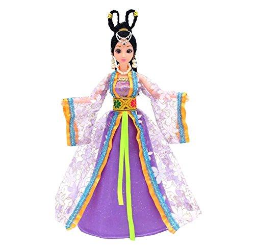 (Prinzessin / Göttin Spielzeug chinesischen alten Kostüm Menschen Puppen Mädchen Dressup-P2)