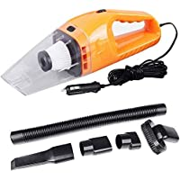 Keekos Car Vacuum Cleaner with Device Portable and High Power Plastic 12V Stronger Suction for All Types Wet and Dry…