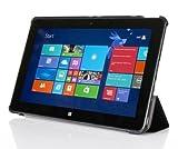 Hülle für Dell Venue 11 PRO 5130 10.8 Zoll Case Stand Cover Slim Flip (Schwarz) NEU
