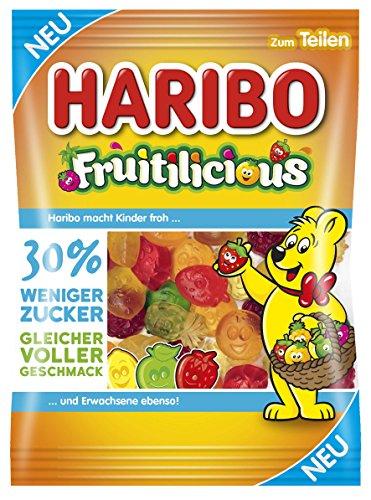 Haribo Fruitilicious, 160 g Beutel