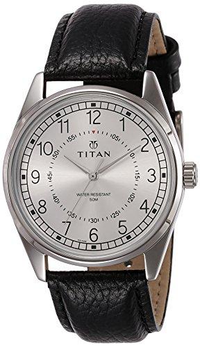 510OWNJ zzL - Titan 1729SL01 Neo Silver Mens watch