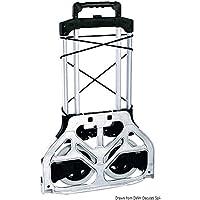 Osculati 47.374.00 - Carrello piatto pieghevole 80 kg (Compact foldable trolley 80 kg)