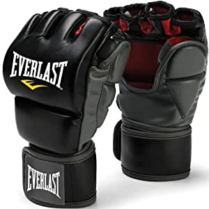 EverlastMMA Grappling Training Gloves Large/XL Black
