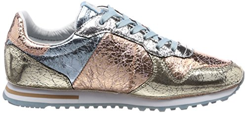 W Pepe Bassi Multicolore pergamena Jeans Femme Incrinato London Sneakers Verona HtqaY4nq