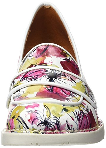 ART 0079 Fantasy Bristol, Escarpins à Bout Fermé Femme Multicolore (Flowers)