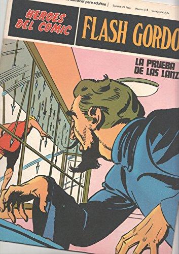 Flash Gordon de Burulan numero 026 (numerado 3 en trasera): La prueba de las lanzas