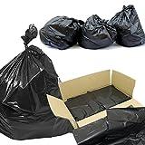 Wir KANN ES LTD–Compactor Sack Müllbeutel 50,8x 86,4x 119,4cm–Box von 10067Mu Alpha Packaging Bauschuttsäcke, strapazierfähig, Mülleimer, Schwarz Filtersäcke, Abfallsäcke für industrielle Abfälle