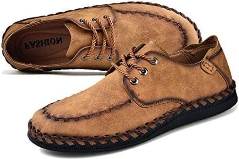 Phefee Hombre Cómodos Casual Loafer Mocasines Zapatos Negocio Moda Planos Zapatos de Conducción