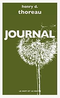 Journal par Henry David Thoreau
