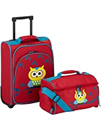 Travelite Valise à Roulette Youngster Owl, 43 cm, 22 L, Multicolore