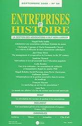 Entreprises et Histoire, N° 56, Septembre 200 : La gestion des associations à but non lucratif