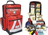 Team Impuls NFA Erste Hilfe Notfallrucksack für Jugendgruppen u. Zeltlager - Planenmaterial mit Waterstop System