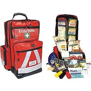 Team Impuls NFA Erste Hilfe Notfallrucksack für Jugendgruppen u. Zeltlager – Planenmaterial mit Waterstop System