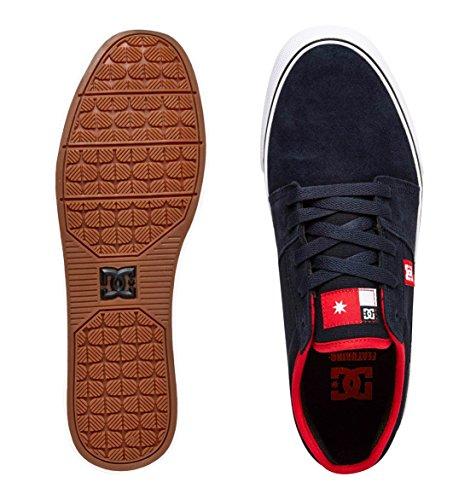 DC, Baskets Mode für Herren dark denim/dawn/red