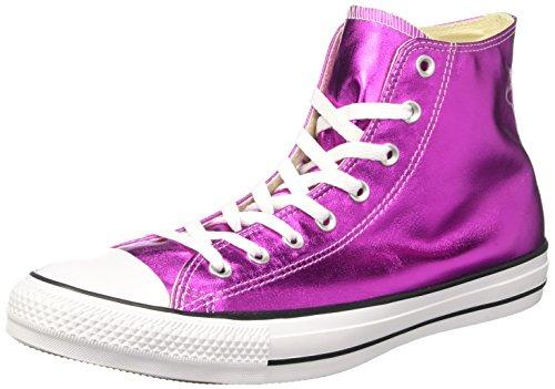 Converse Unisex-Erwachsene Ctas Hi Sneakers Pink (Magenta Glow/black/white)