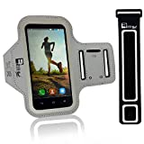 iPhone 8/7/6 socken Mit Fingerprind-Identifizierung. Sportsocken Telefon Handyhalter Case für Laufen, Workout, Joggen & Fitness