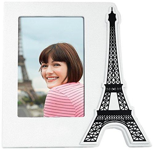 Zep W2346 Tour - Marco de fotos (madera, 10 x 15 cm), diseño de torre Eiffel