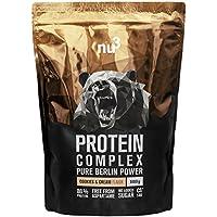 nu3 - Protéine Complex | 1kg | Poudre saveur cookies & cream | Poudre protéinée à base de protéines de lait, de...