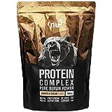 nu3 Protein Complex | Cookies & Cream Geschmack | 1kg Proteinpulver | Whey, Milch, Ei Mehrkomponenten 3K Protein | BCAA