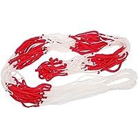 Katech Net Bag Grande capacità Resistente Basket Storage Bag pallavolo Carry Bag Intrecciato Rete della Maglia da Calcio Training Balls Organizer Pratico Attrezzatura Sportiva
