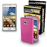 Handyhülle Grün Klassisch TPU Silikon für Samsung Galaxy S2 i9100 S2 Plus i9105. Gummi Hülle, dünn Cover classic, Rückschale Schutz, Backcover Protektor.