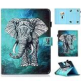 Funda para 7' Tableta, Carcasa Protección para iPad Mini, Samsung Galaxy Tab A6 7.0/Galaxy Tab 3 Lite, Huawei MediaPad T3 7', Kobo Aura H2O Edition 2, Lenovo Tab3 A7-10/Tab 7 Essential,Elefante