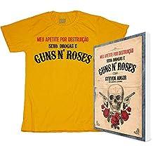 Combo. Guns'n'roses ( Kit Livro + Camiseta Algodão) (Em Portuguese do Brasil)