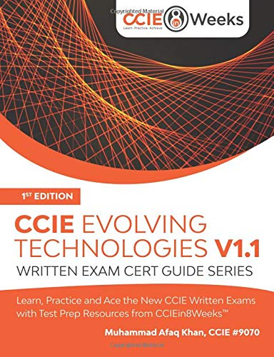 CCIE Evolving Technologies V1.1: Written Exam Cert Guide Series