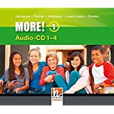 MORE! 1 Audio CD 1-4 NEU